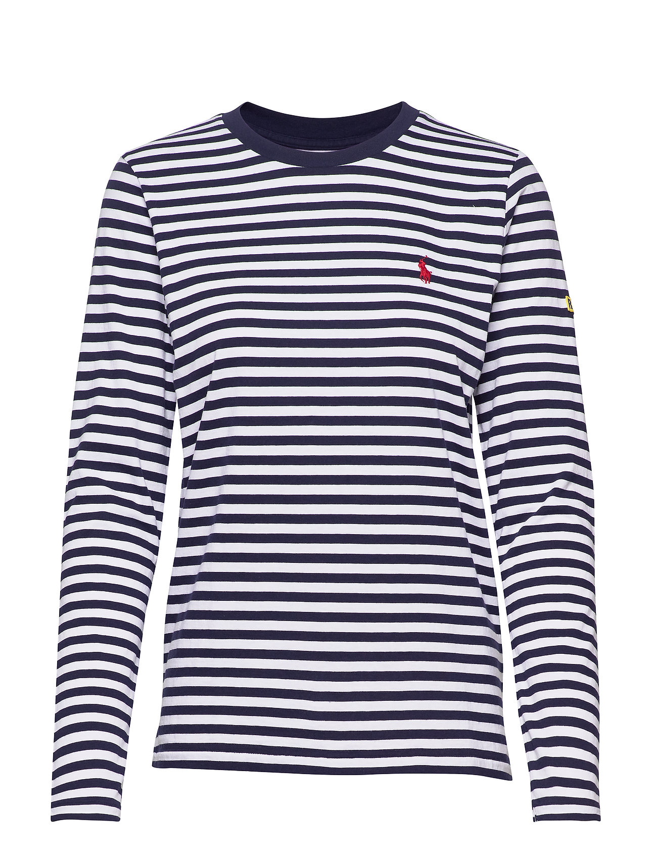 Polo Ralph Lauren Striped Long-Sleeve Tee - CRUISE NAVY/ WHIT