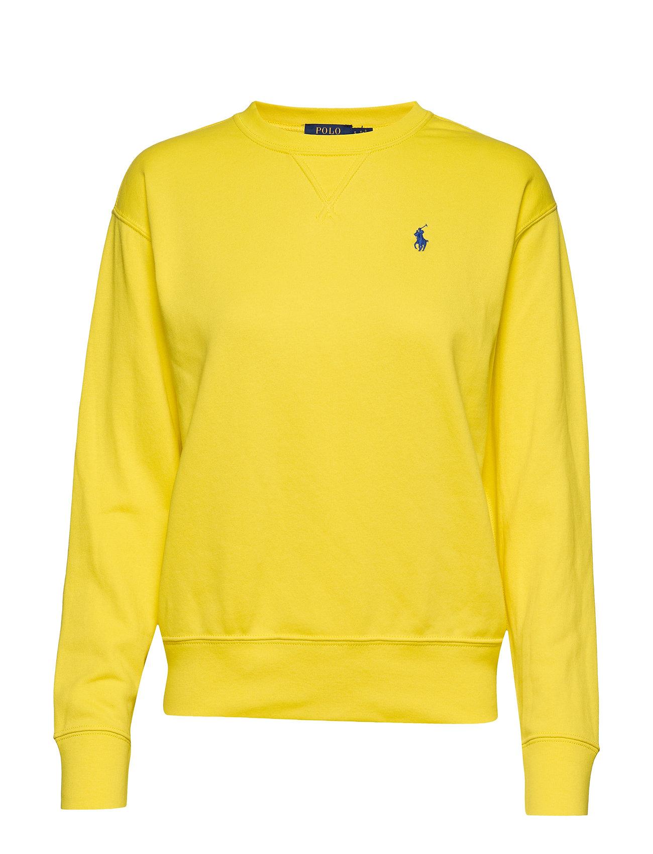 Polo Ralph Lauren Fleece Pullover - LEMON CRUSH
