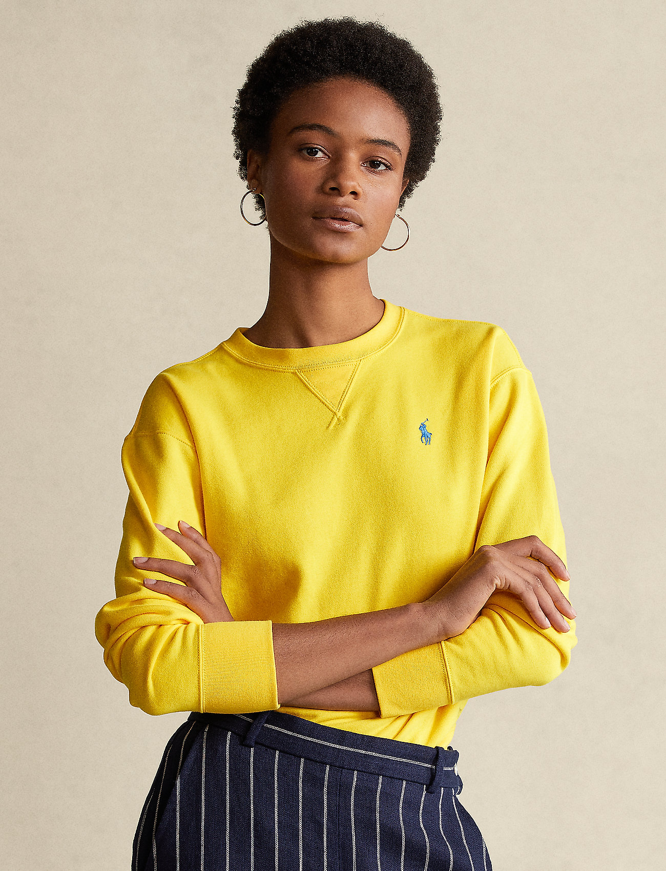 Polo Ralph Lauren - Fleece Pullover - sweatshirts - university yellow - 0
