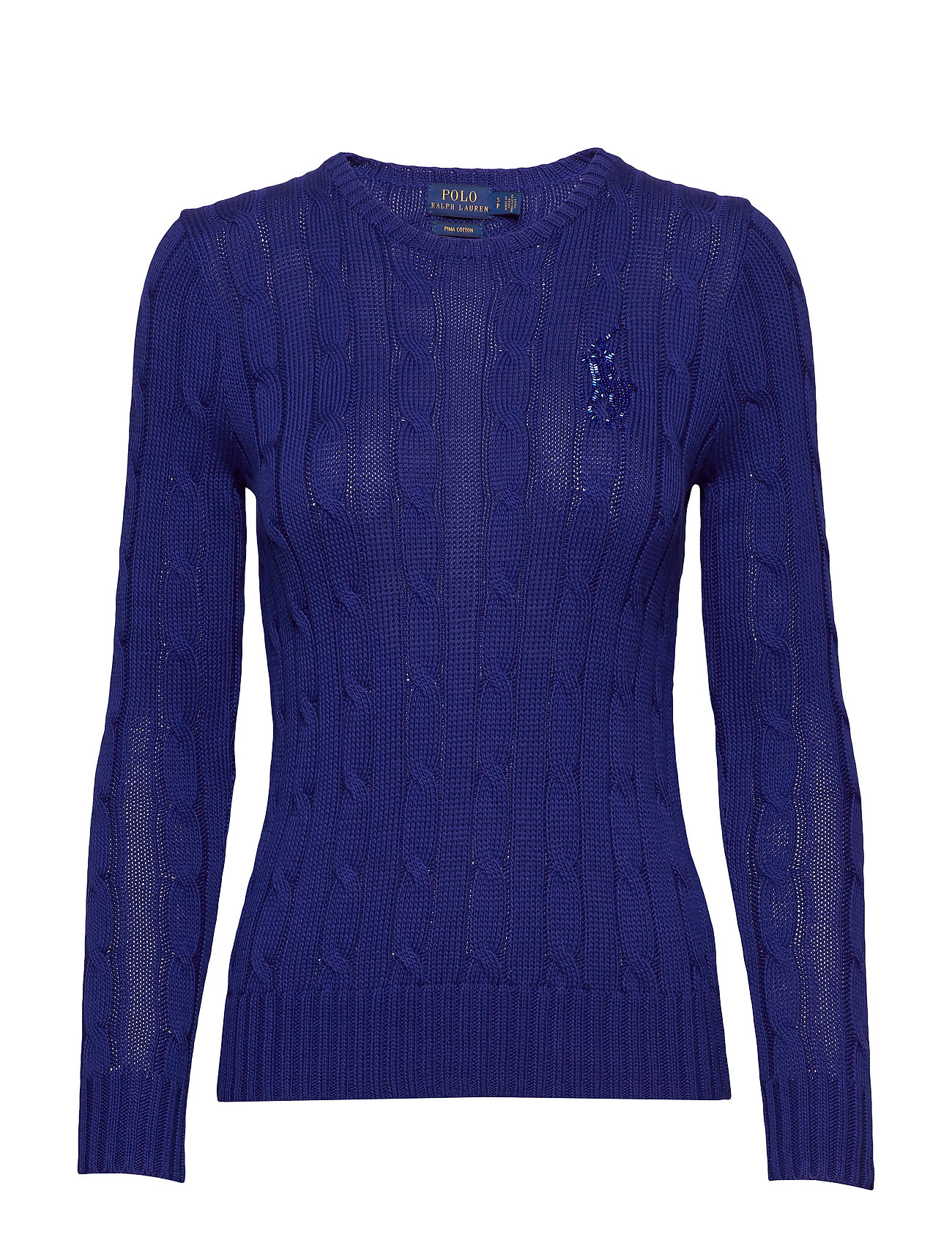 Polo Ralph Lauren Cable-Knit Cotton Sweater - FALL ROYAL
