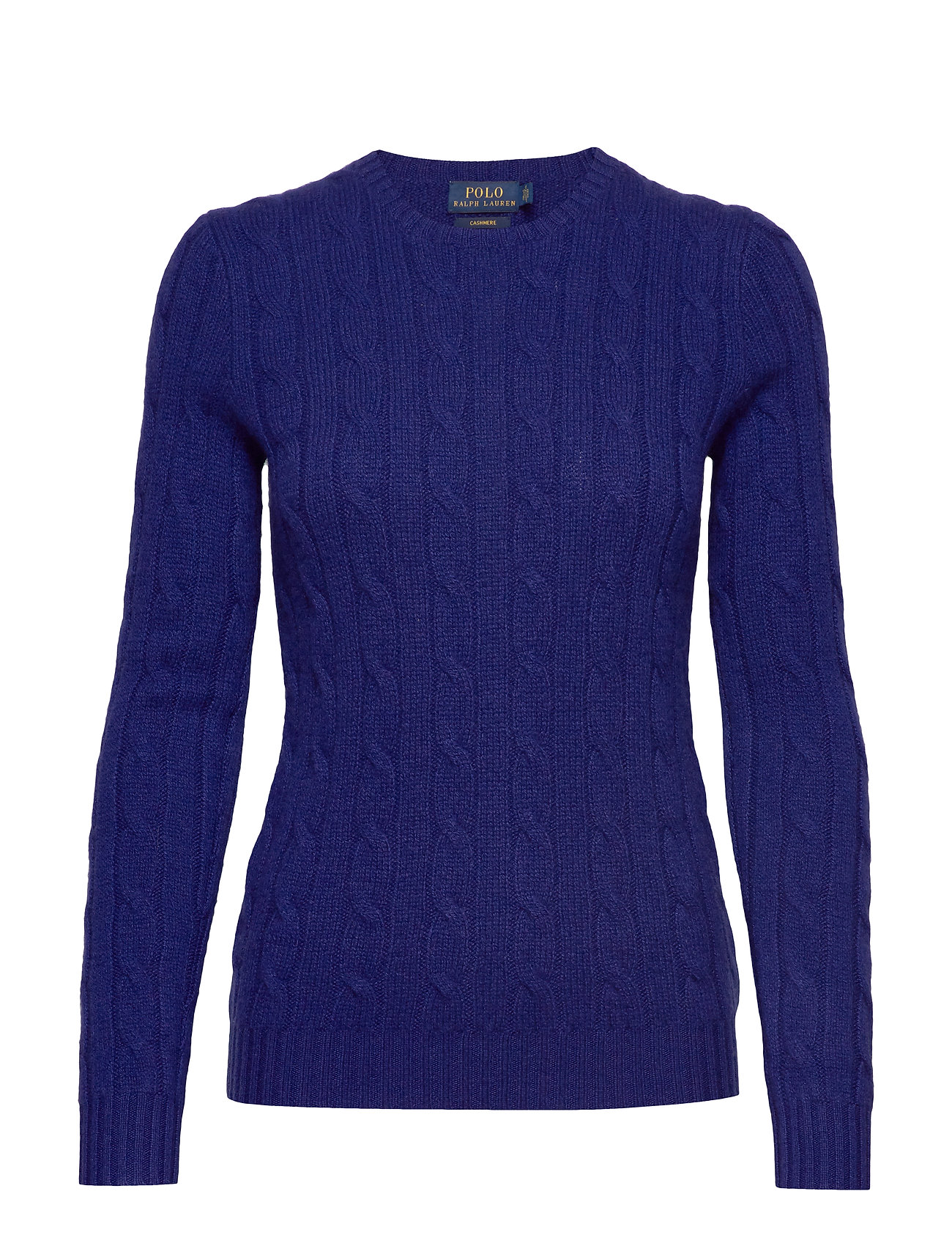 Polo Ralph Lauren Cable-Knit Cashmere Sweater - FALL ROYAL