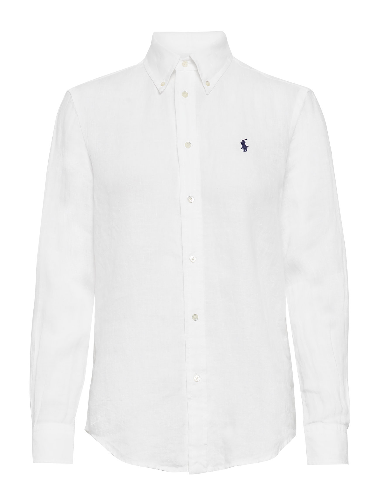 Polo Ralph Lauren Relaxed Fit Linen Shirt - WHITE