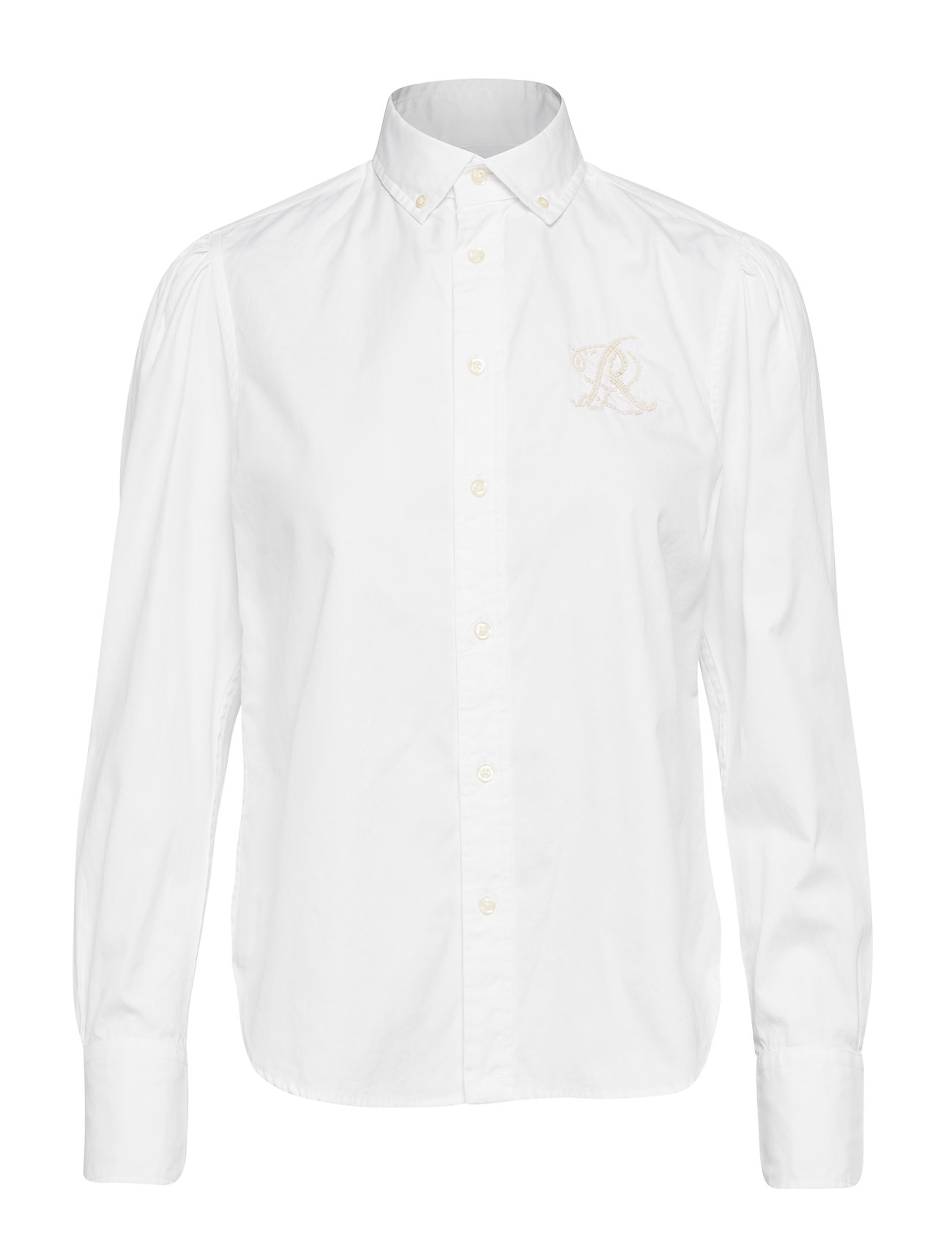 Polo Ralph Lauren Cotton Oxford Shirt - BSR WHITE