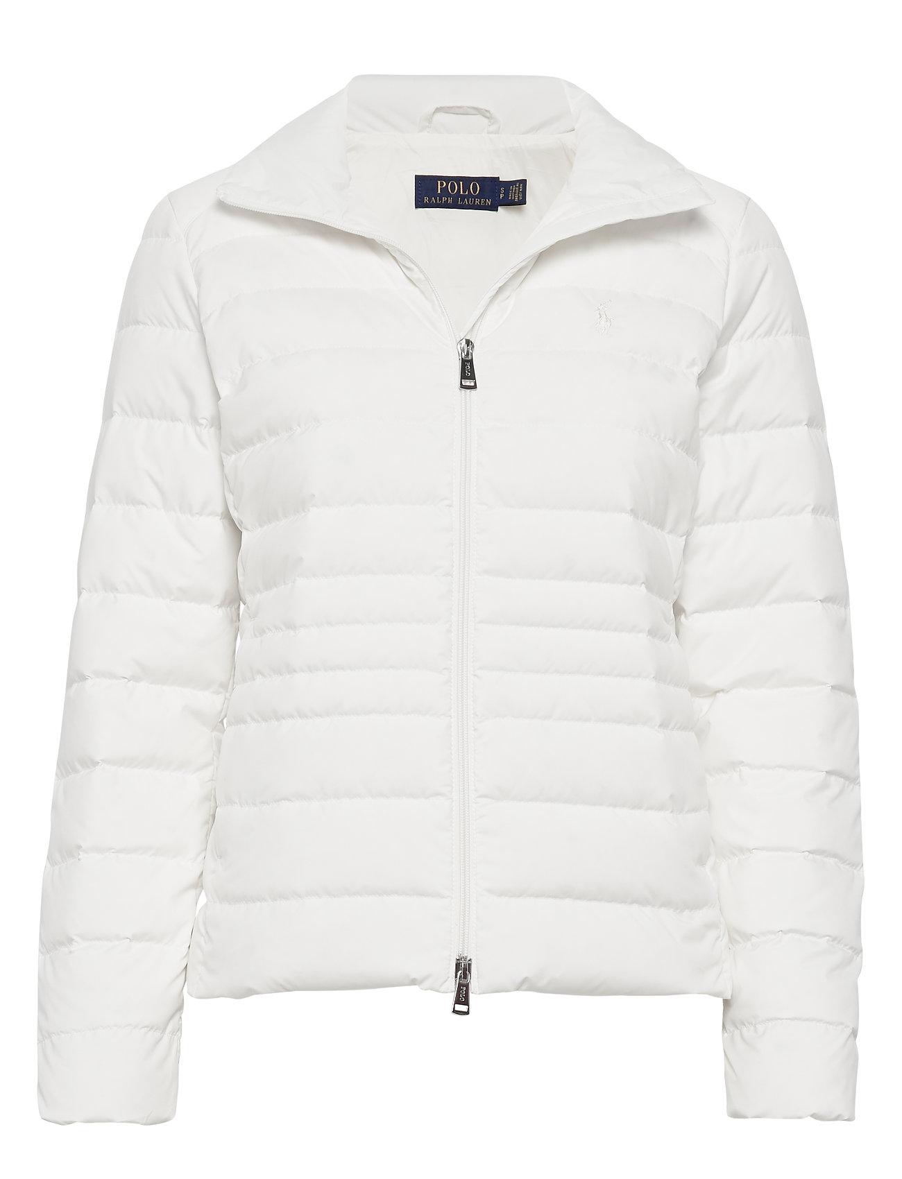 Polo Ralph Lauren Packable Down Jacket - WARM WHITE