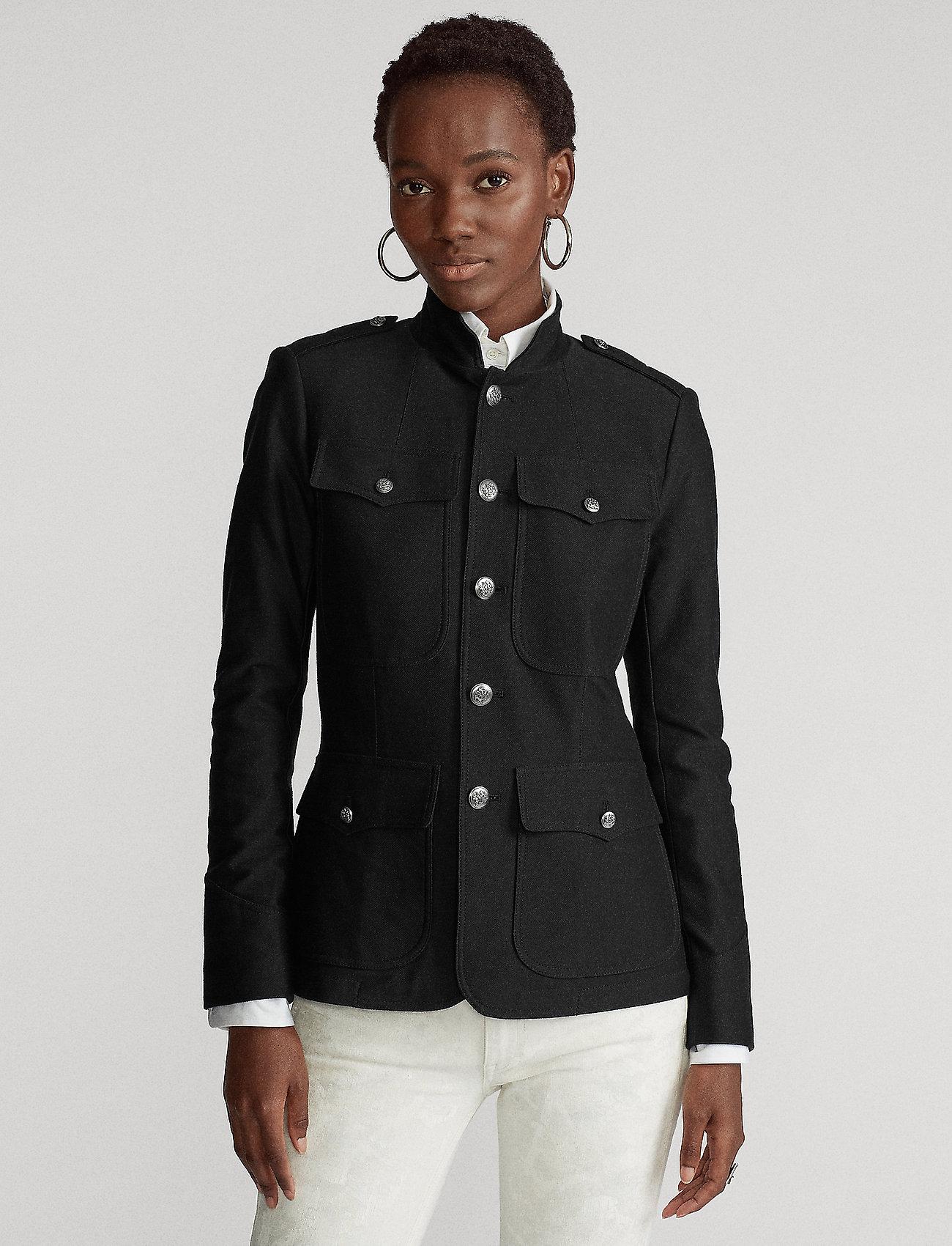Polo Ralph Lauren - Cotton Stretch Blazer - blezery - polo black - 0