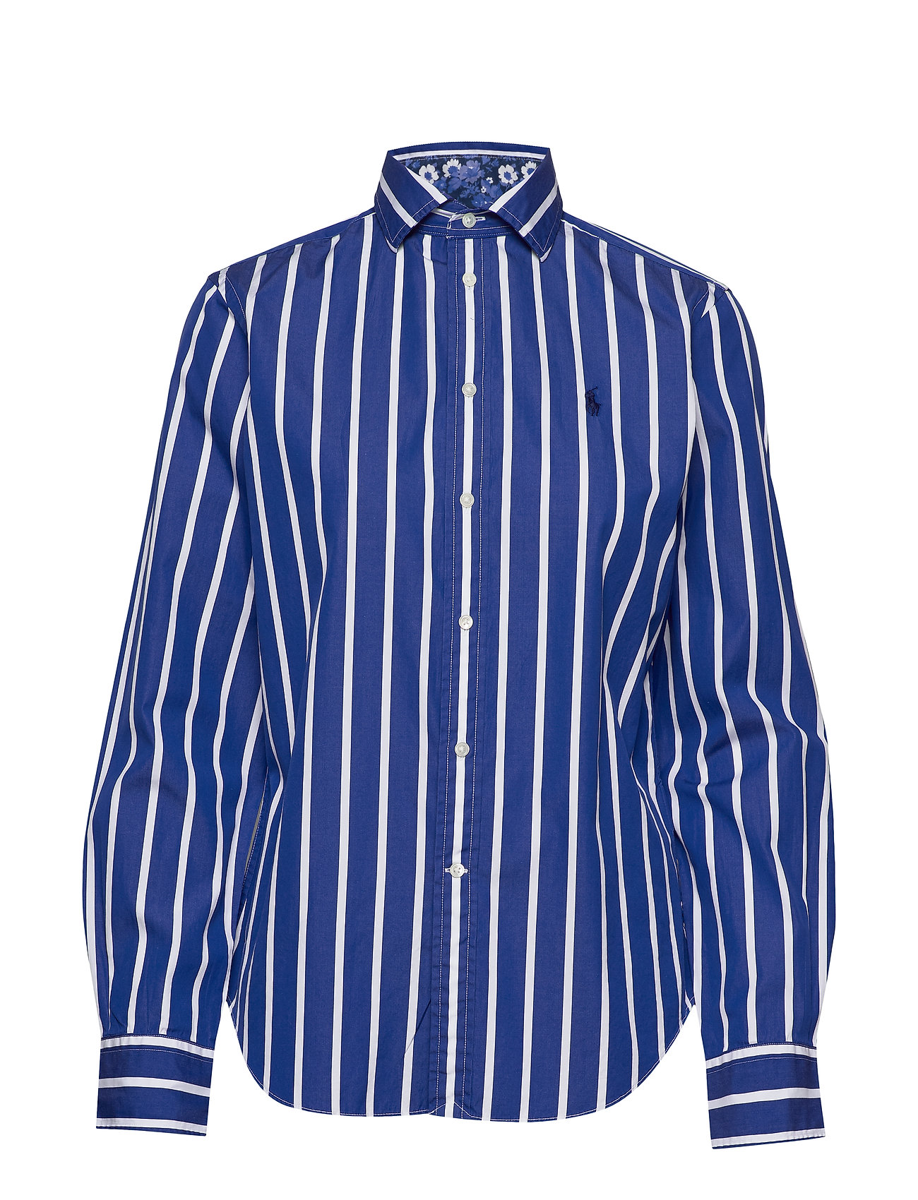 Polo Ralph Lauren Striped Cotton Shirt - 513 BLUE/WHITE