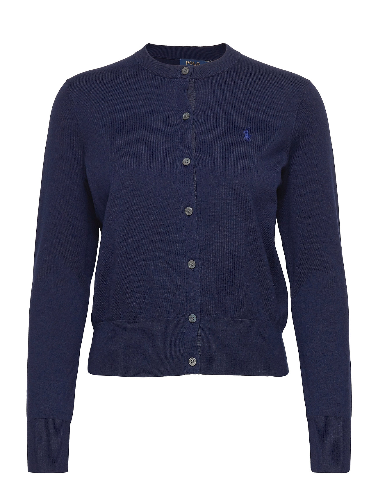Polo Ralph Lauren Cotton Cardigan - BRIGHT NAVY
