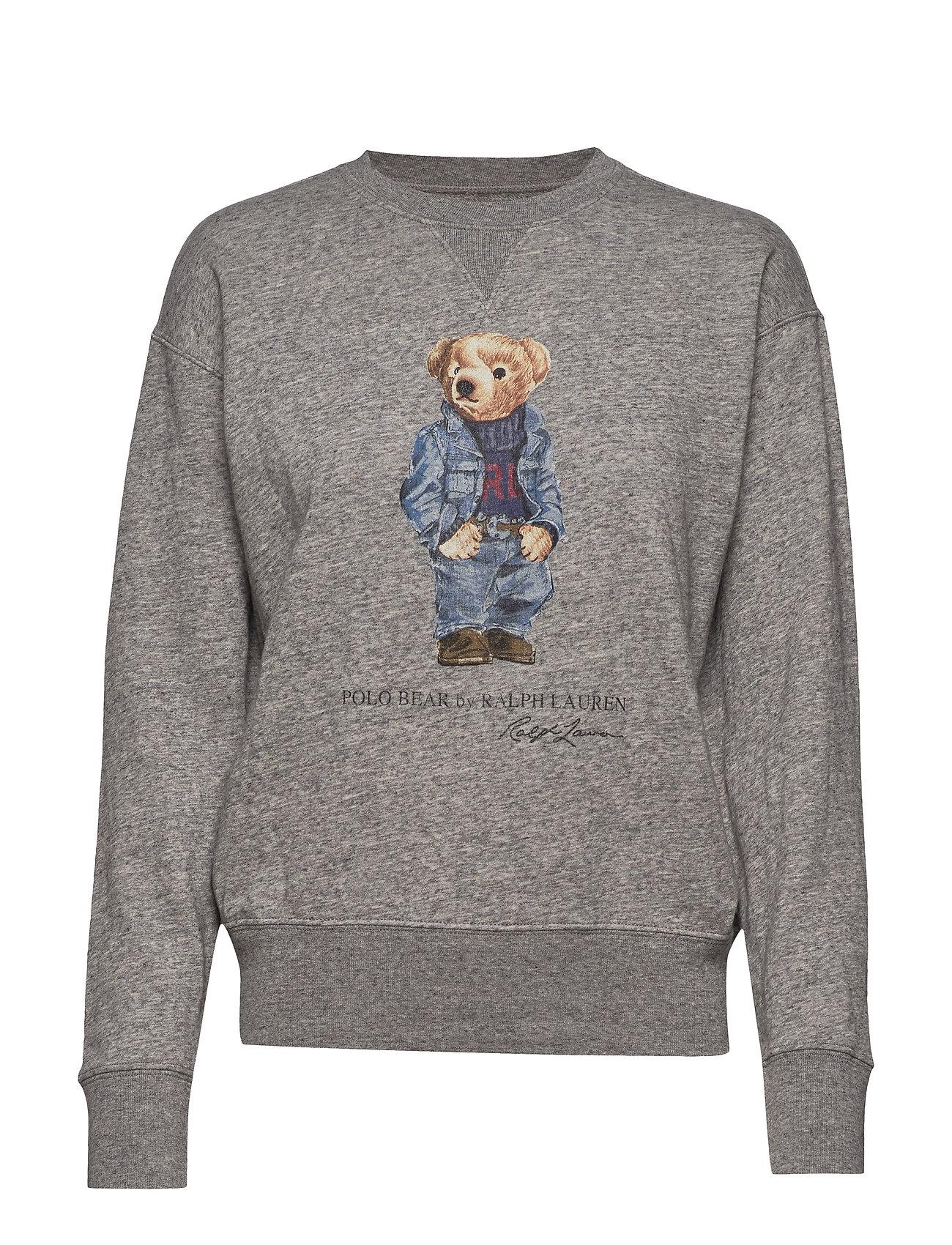 Polo Ralph Lauren Polo Bear Fleece Sweatshirt - DARK VINTAGE HEAT