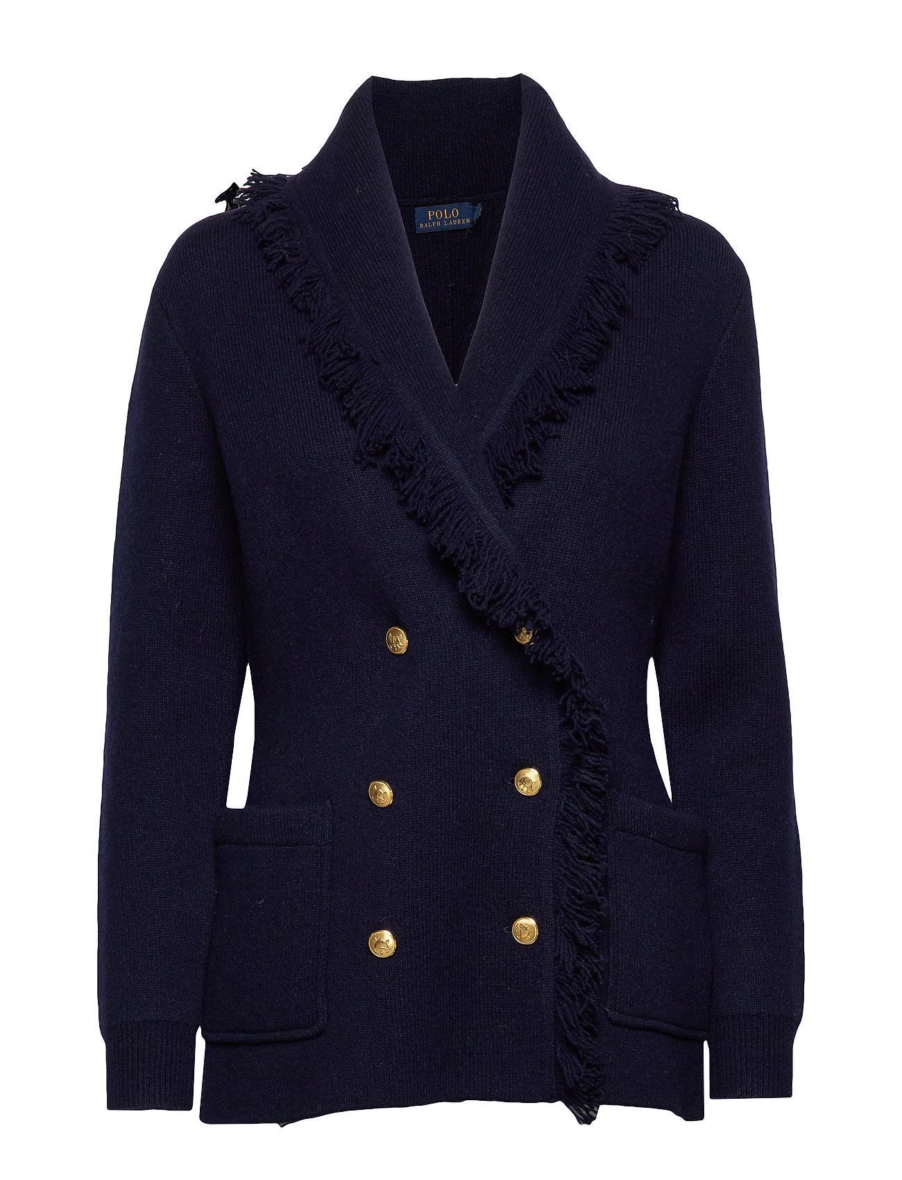 Polo Ralph Lauren Wool-Blend Sweater Blazer - HUNTER NAVY