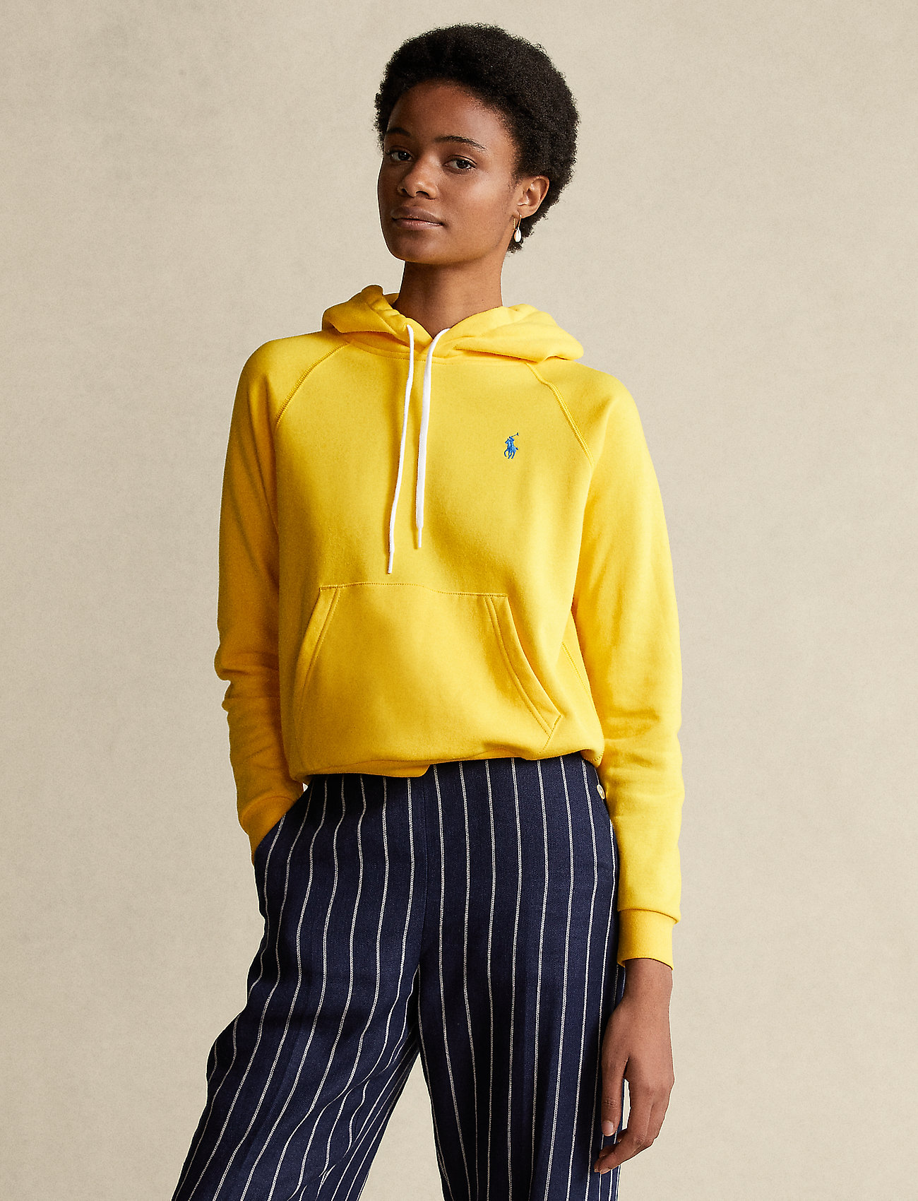 Polo Ralph Lauren - FEATHERWEIGHT FLC-LSL-KNT - hættetrøjer - university yellow - 0