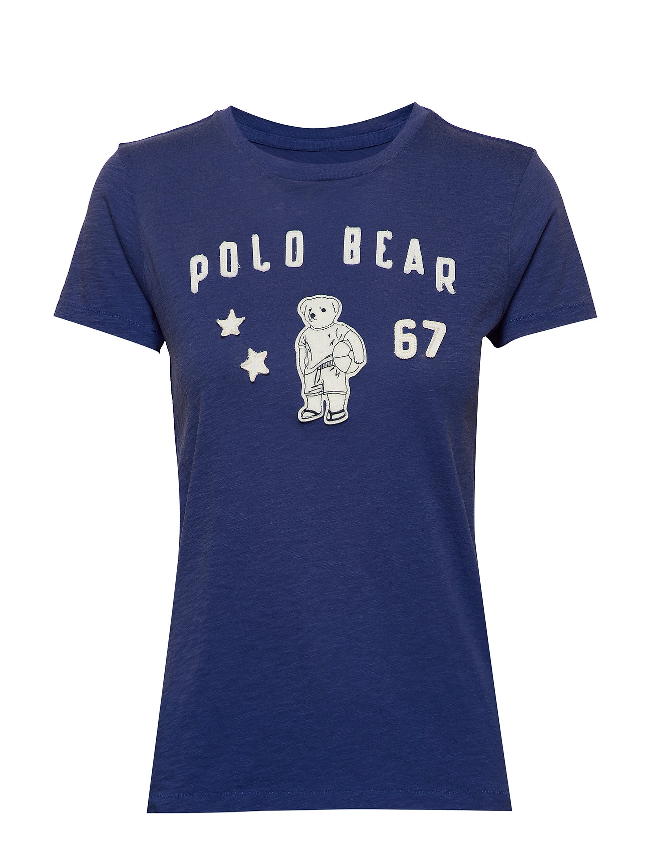 Polo Ralph Lauren Polo Bear Patch Jersey Tee - ROYAL NAVY