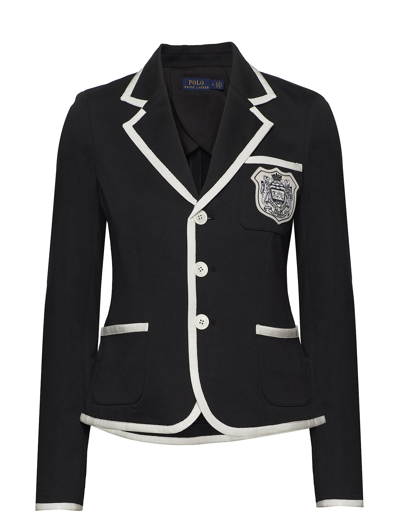 Polo Ralph Lauren Crest French Terry Blazer - POLO BLACK