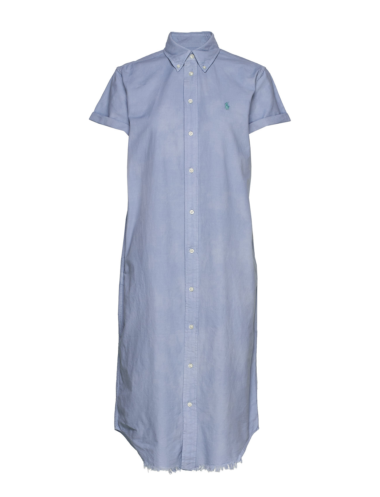 Polo Ralph Lauren Cotton Oxford Shirtdress - BLUE LAGOON