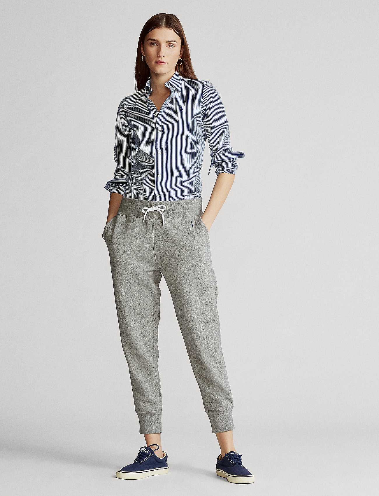 Polo Ralph Lauren - Fleece Sweatpant - sweatpants - dark vintage heat - 0
