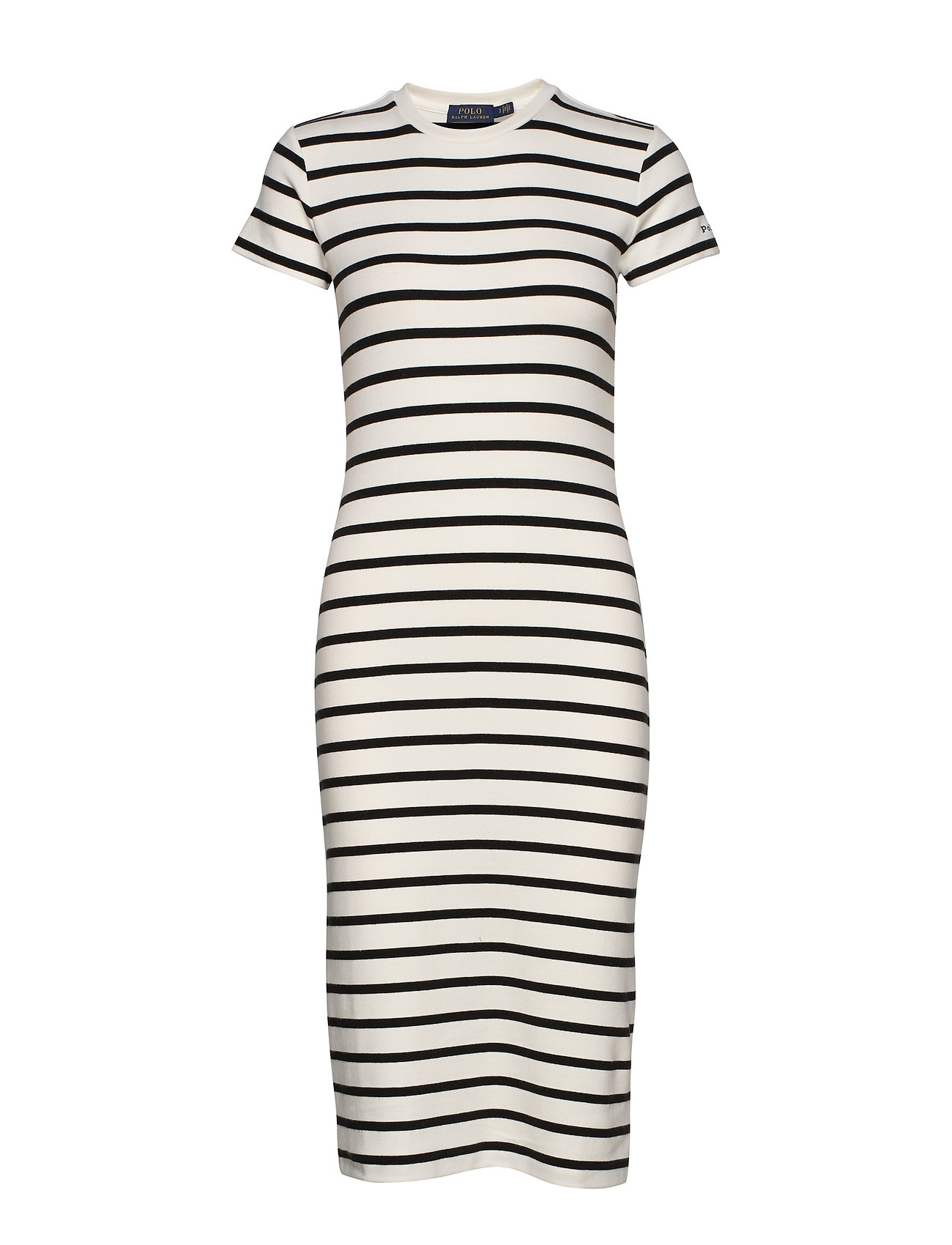 Polo Ralph Lauren Striped Cotton Dress - NEVIS/ POLO BLACK