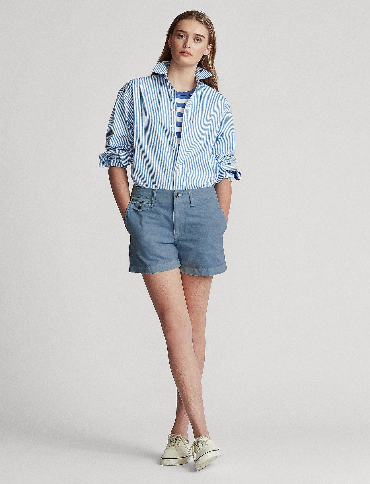 Polo Ralph Lauren - Cotton Chino Short - chino shorts - carson blue - 0