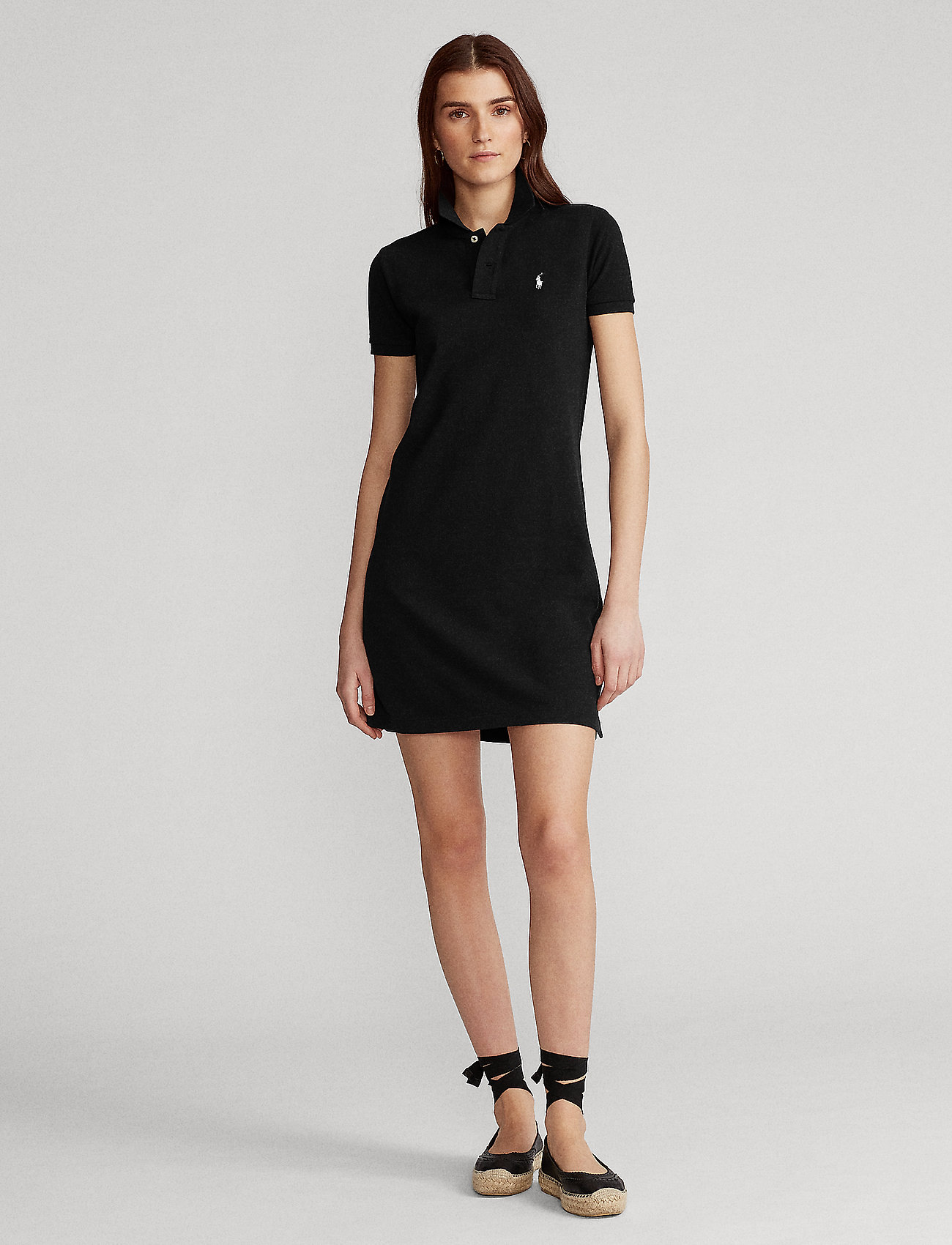 Polo Ralph Lauren - Cotton Polo Dress - hverdagskjoler - polo black/c1740 - 0