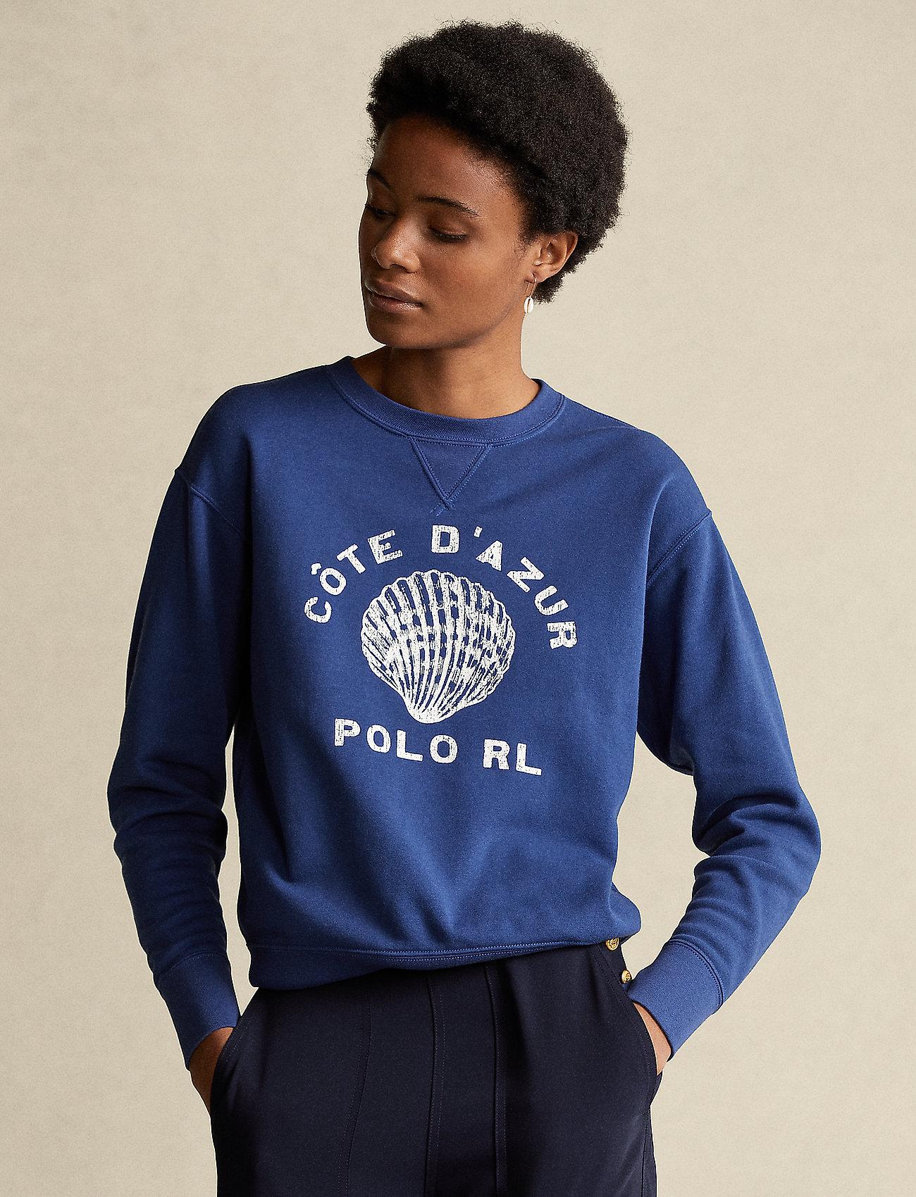 Polo Ralph Lauren - Côte d'Azur Fleece Sweatshirt - sweatshirts - vineyard royal - 0