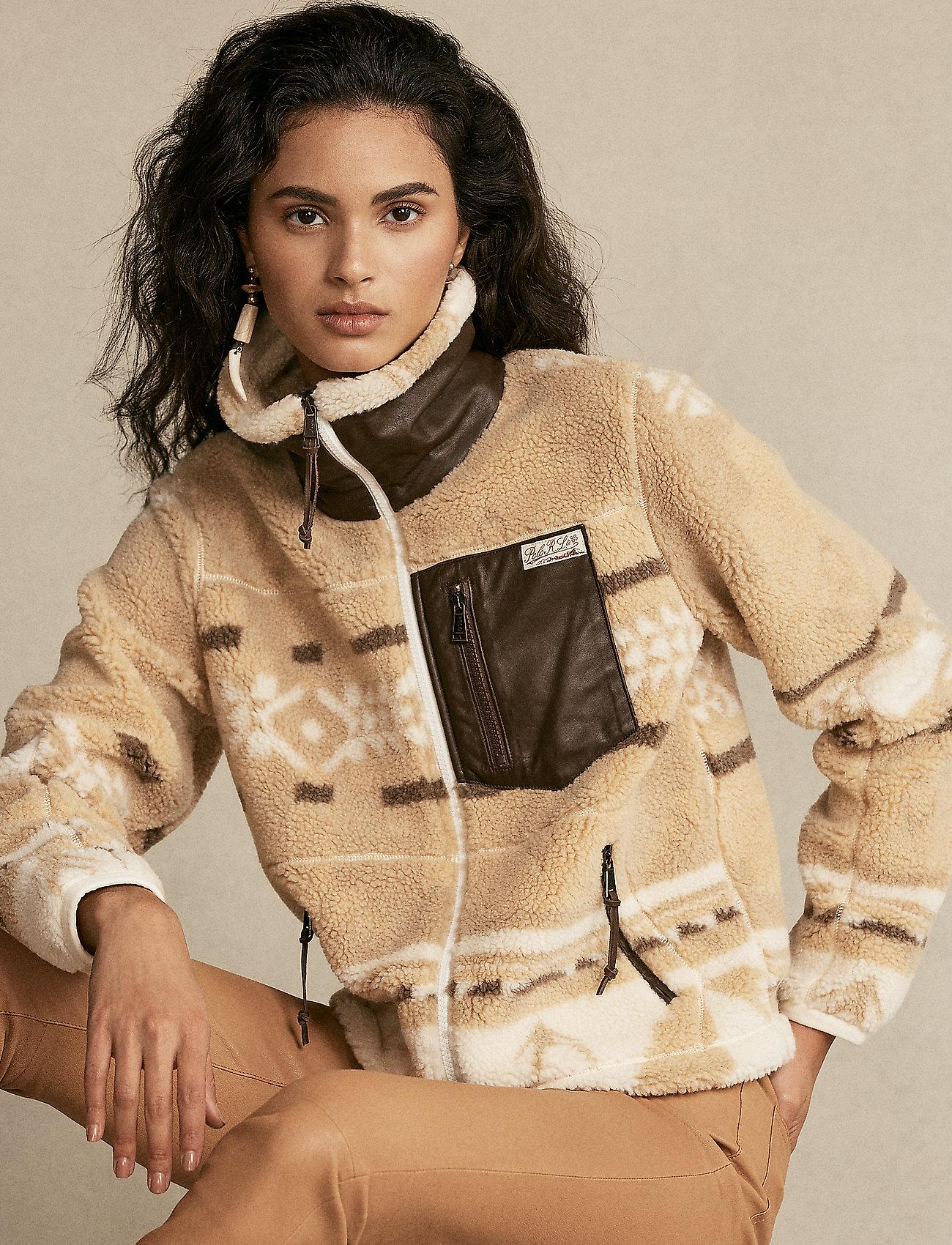 Polo Ralph Lauren - Southwestern Fleece Zip Jacket - fleece - bcn print - 0