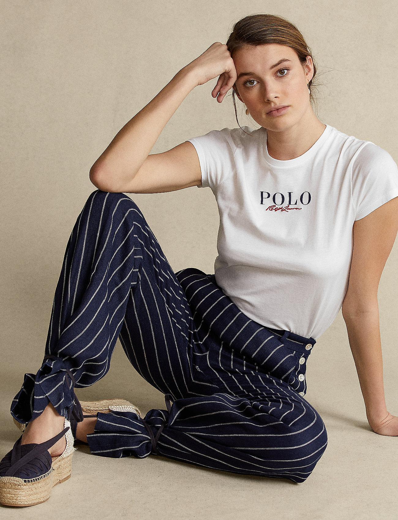 Polo Ralph Lauren - Logo Cotton Tee - t-shirts - white - 0