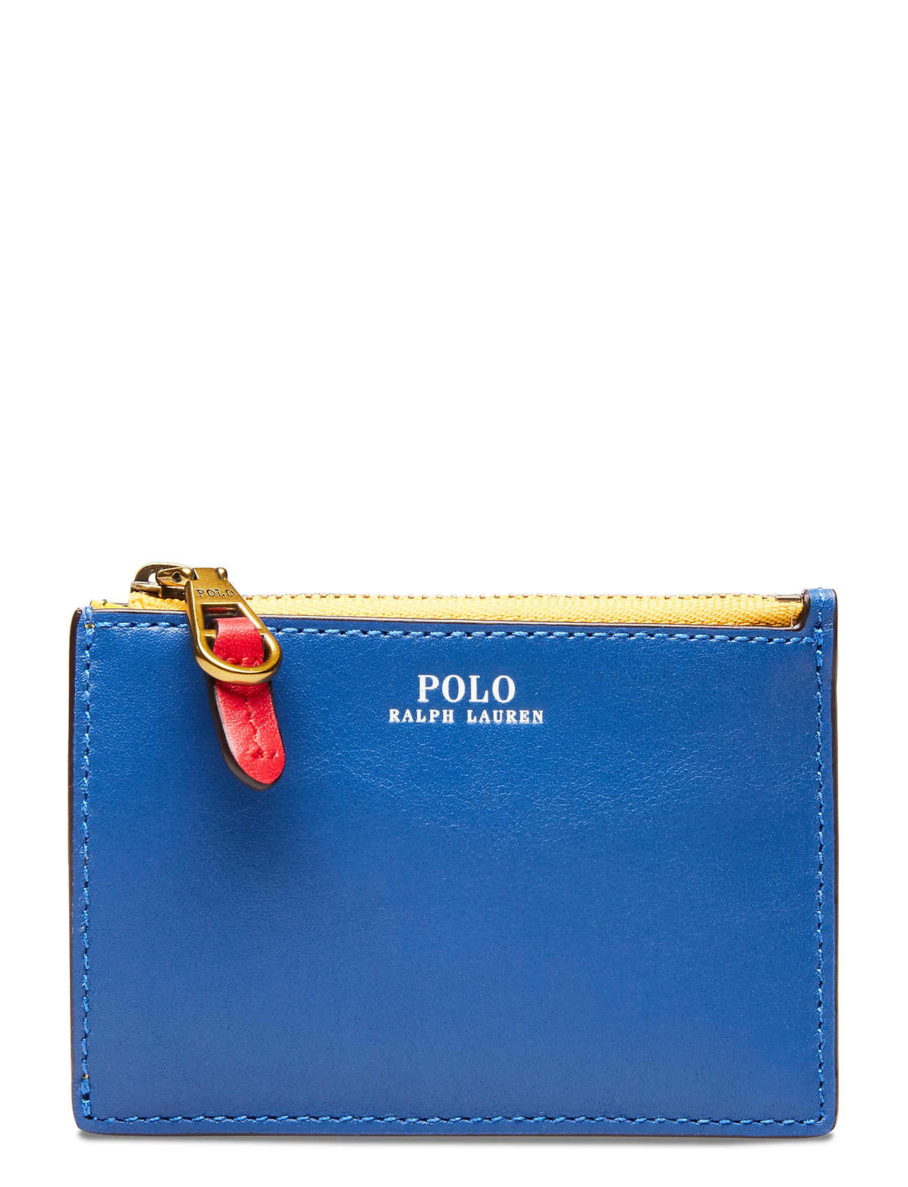 Polo Ralph Lauren Color-Blocked Card Case - MULTI