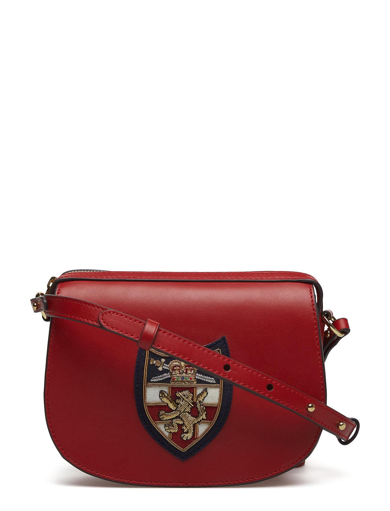 Smth Lthr Gold Crst-bul Mini Bag-cx (Scarlet) (1899 kr) - Polo Ralph ... 557397852fe90