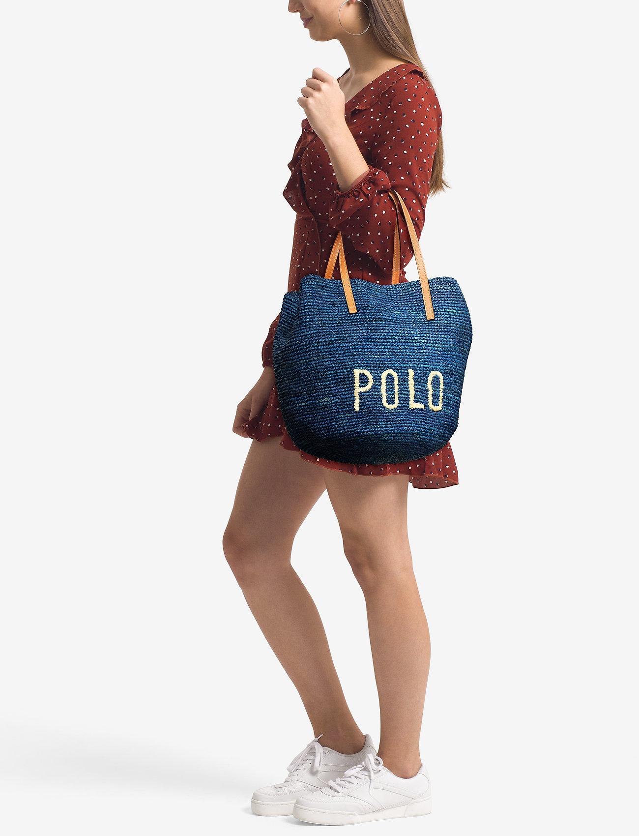 Polo Ralph Lauren Polo Raffia Large Tote Bag