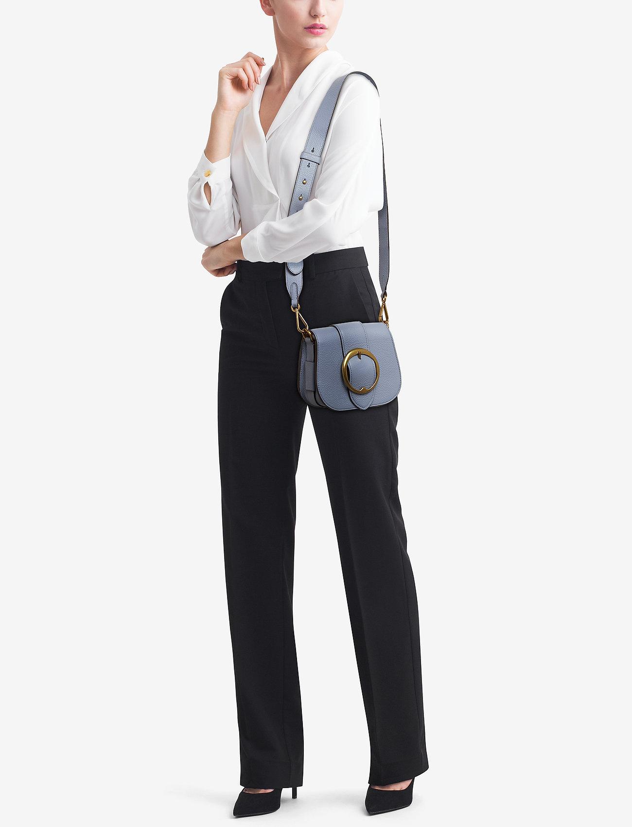 Polo Ralph Lauren Pebbled Leather Lennox Bag - CHAMBRAY