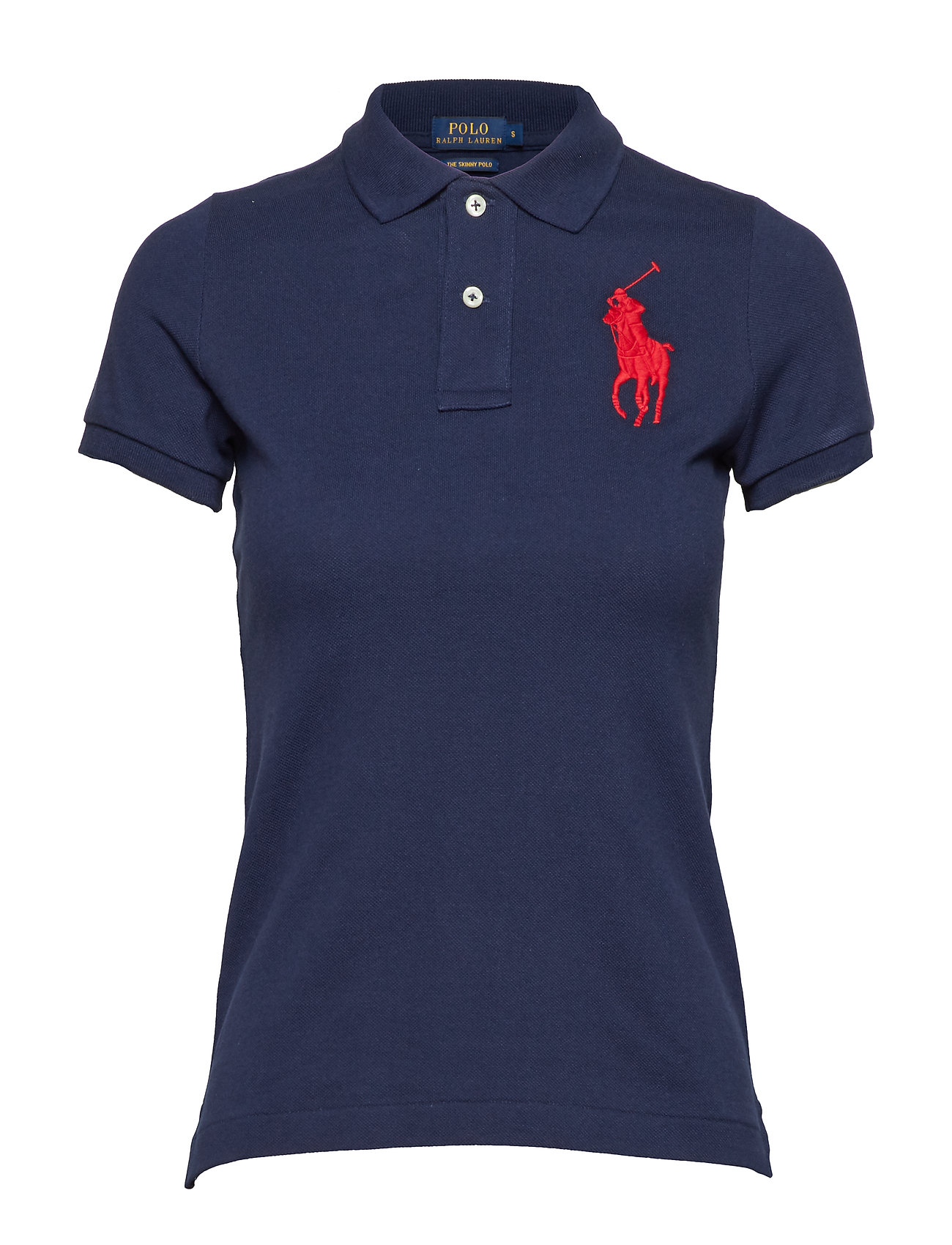 Polo Ralph Lauren Skinny-Fit Big Pony Polo Shirt - NEWPORT NAVY