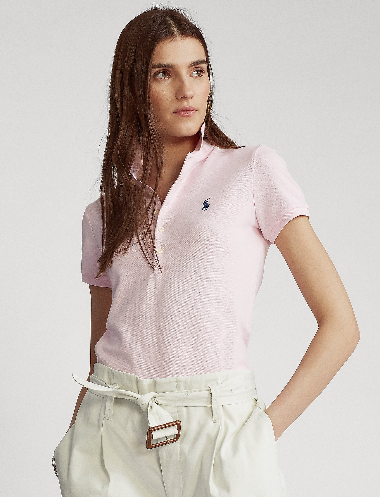 Polo Ralph Lauren - Slim Fit Polo Shirt - pikeepaidat - country club pink - 0