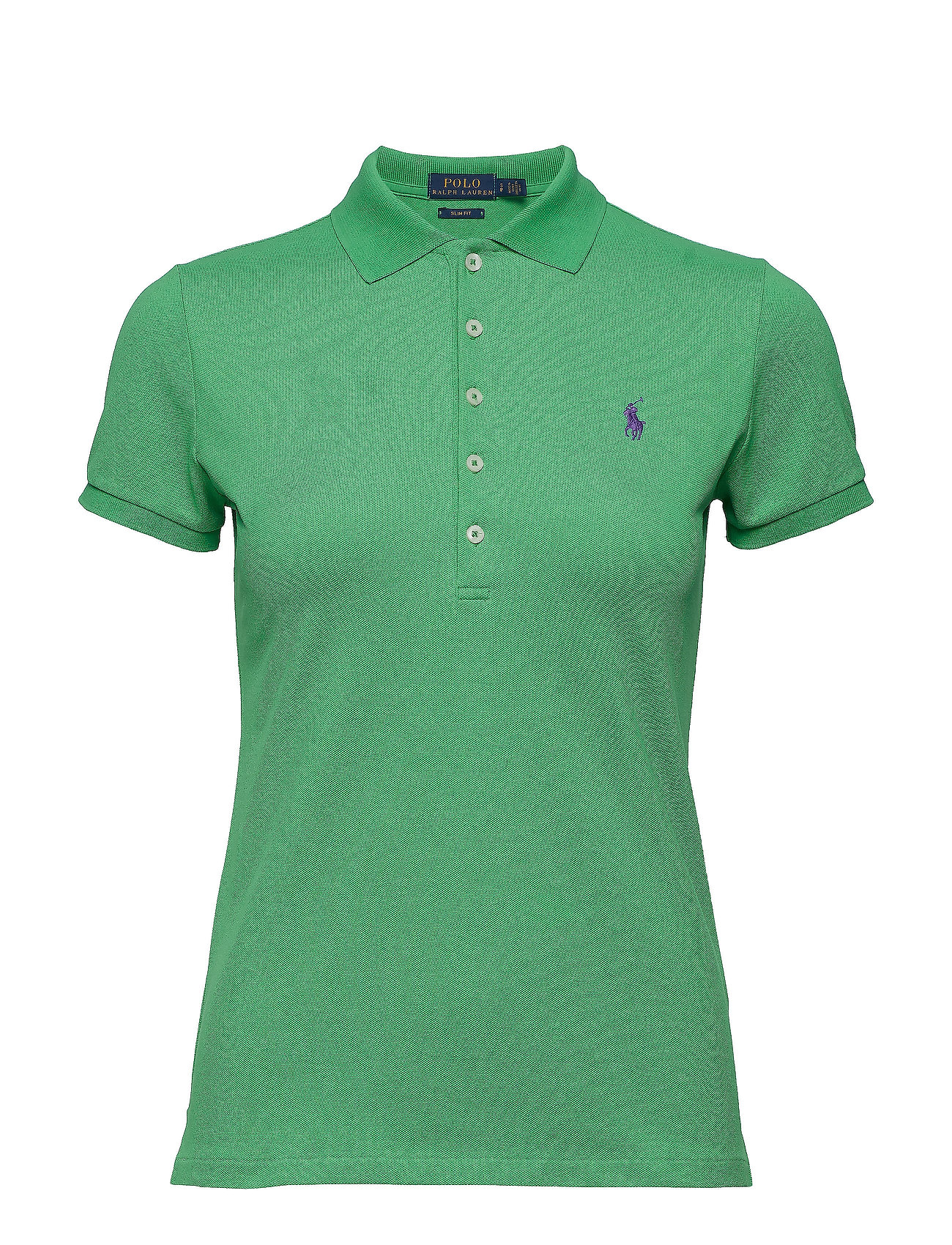 Polo Ralph Lauren Skinny Fit Stretch Mesh Polo - VINEYARD GREEN