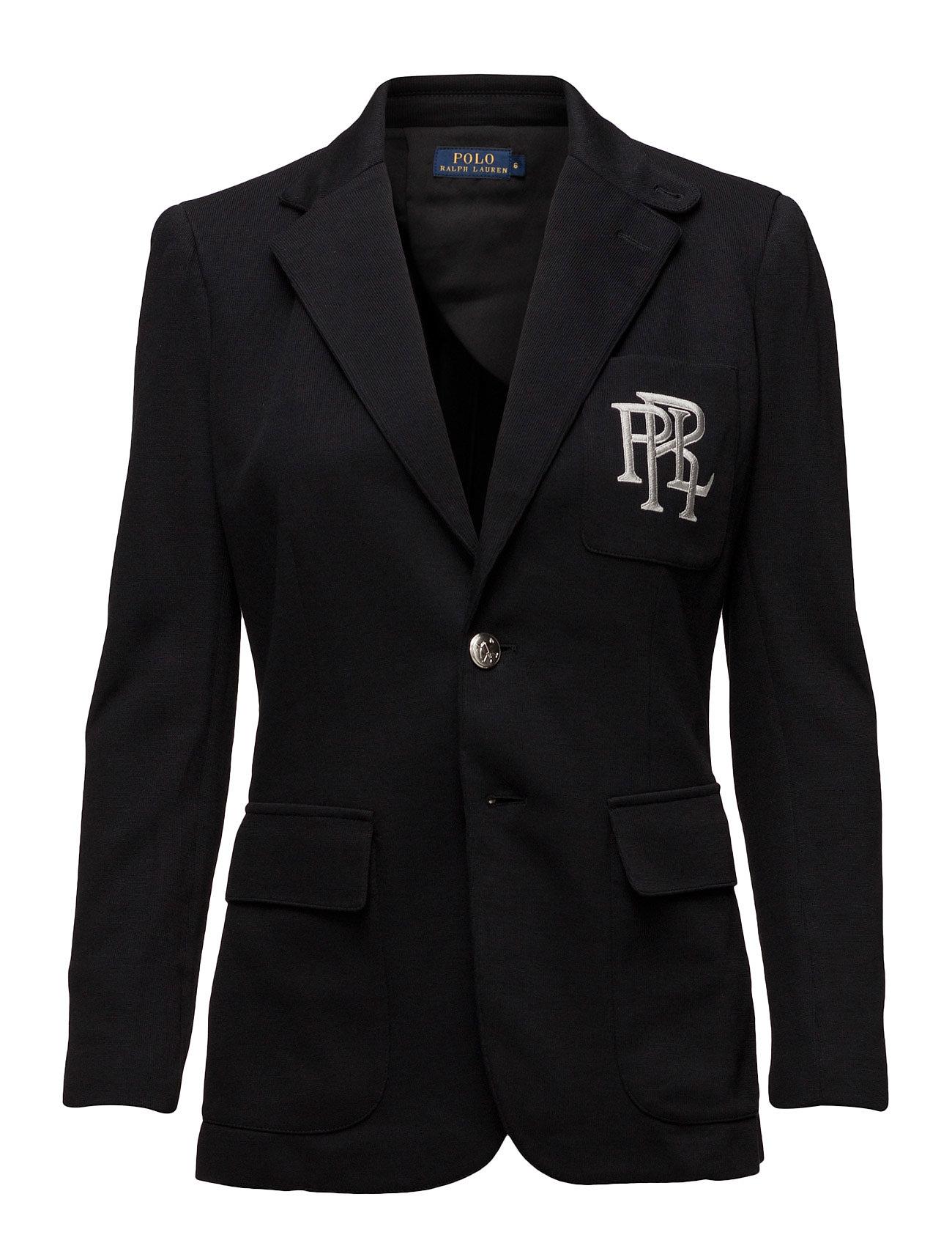 Polo Ralph Lauren Knit Cotton Blazer - POLO BLACK