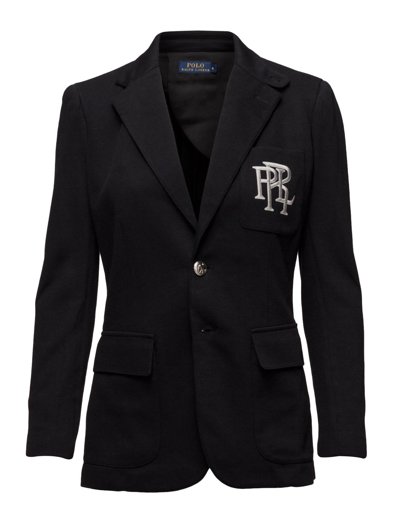 da89ffa046ff31 Knit Cotton Blazer (Polo Black) (£249) - Polo Ralph Lauren -
