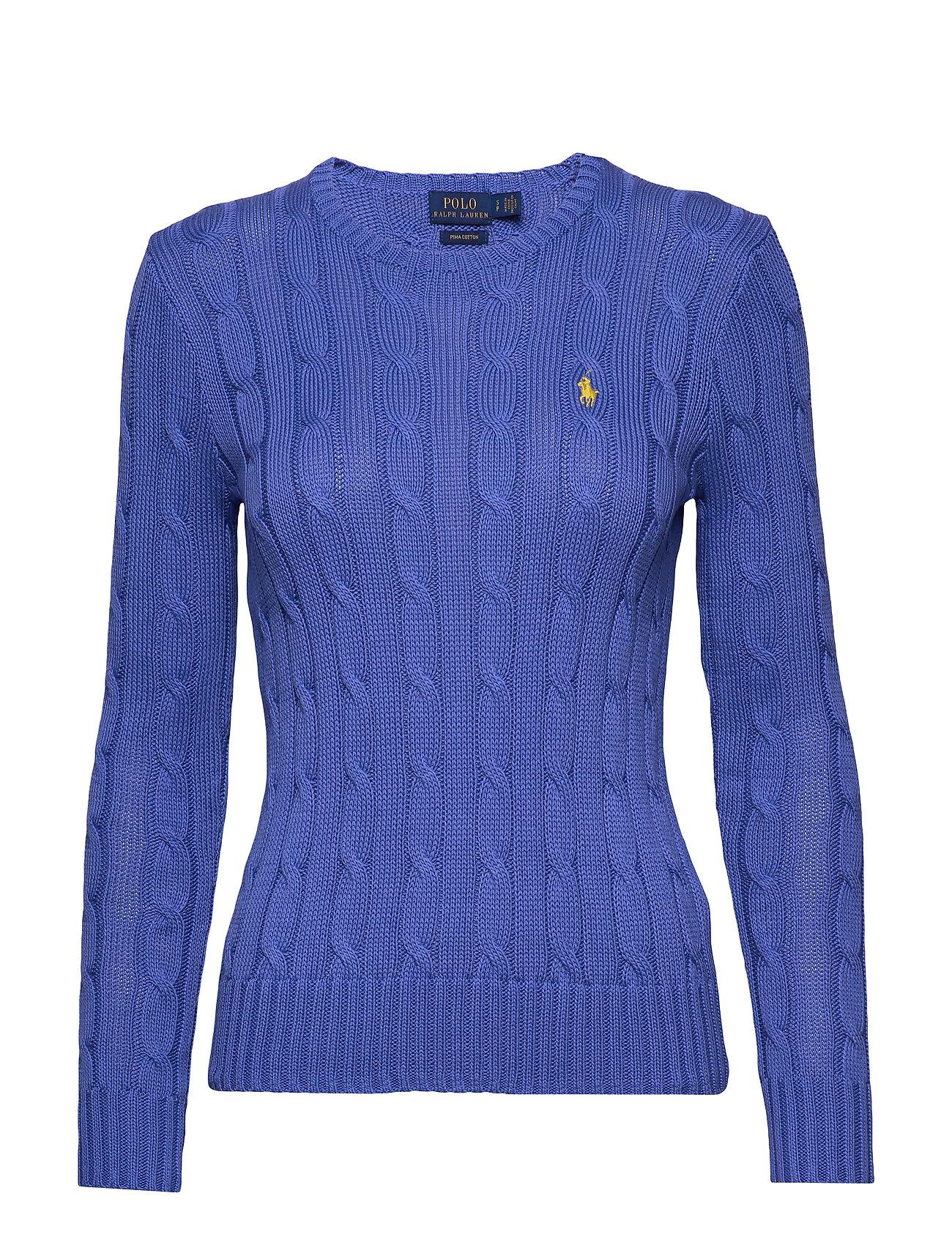 Polo Ralph Lauren Cable-Knit Cotton Sweater - BAR HARBOR BLUE