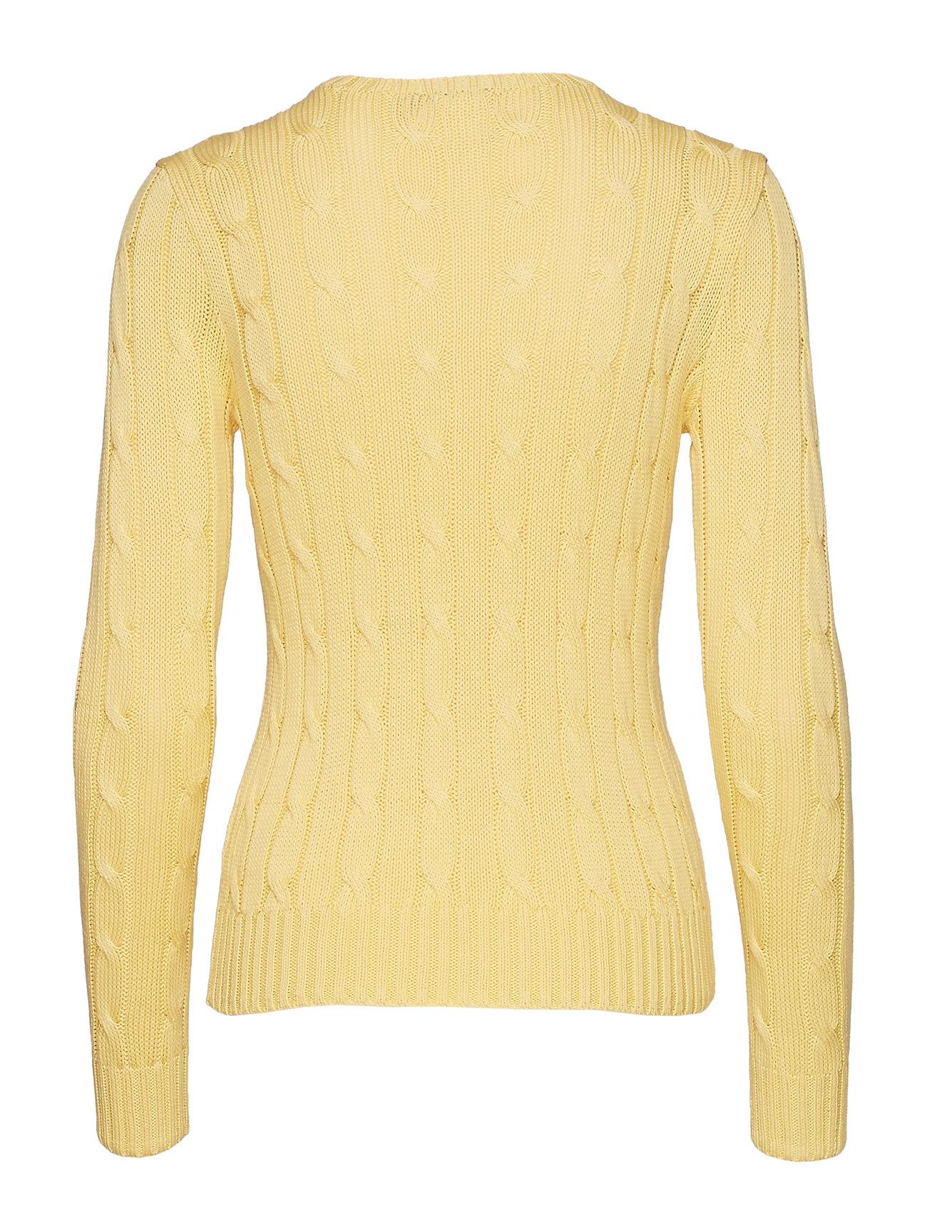 Lauren Crewneck Ralph Cable knit SweaterbuttercreamPolo D9IHY2WE