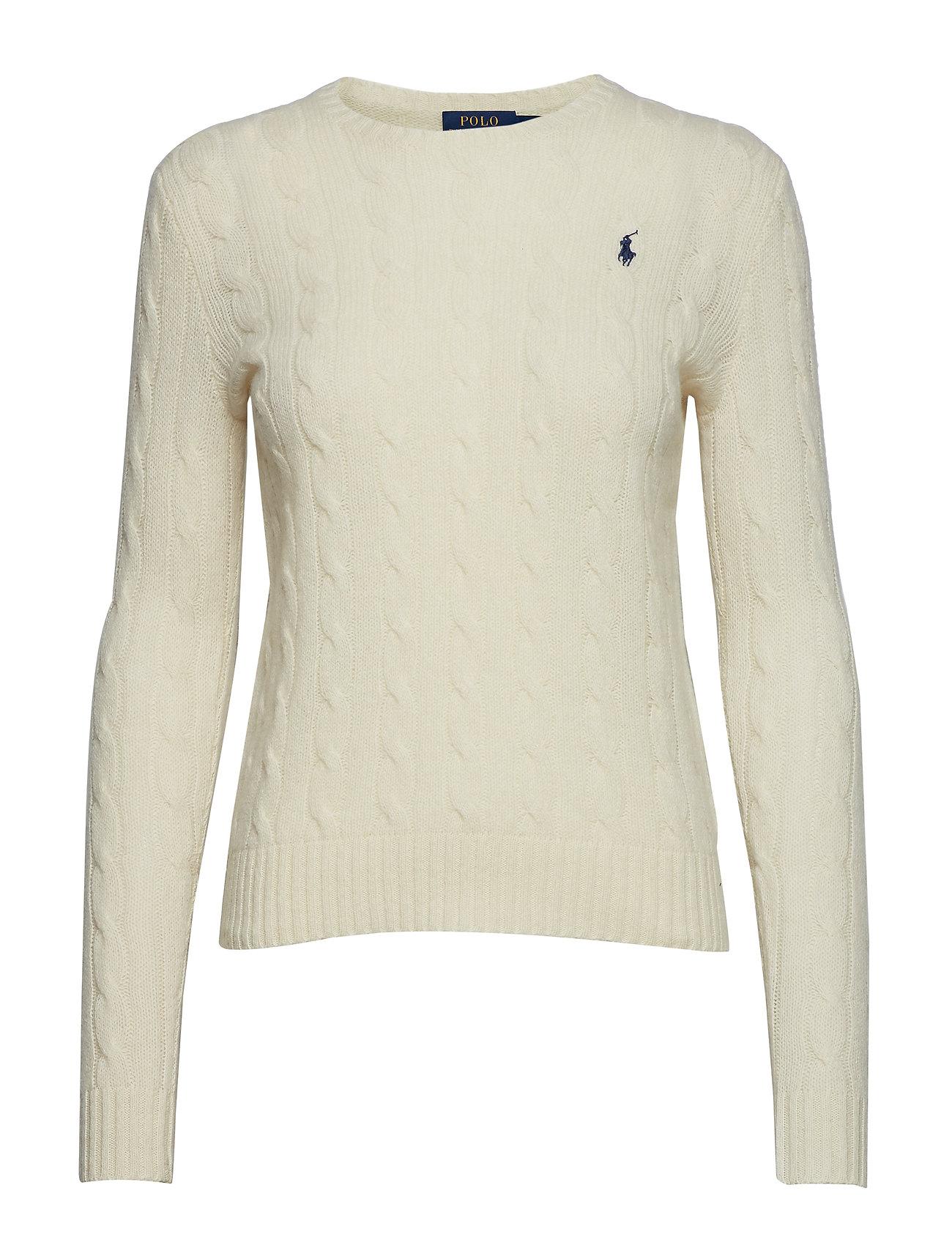Polo Ralph Lauren Wool-Cashmere Crewneck Sweater - CREAM