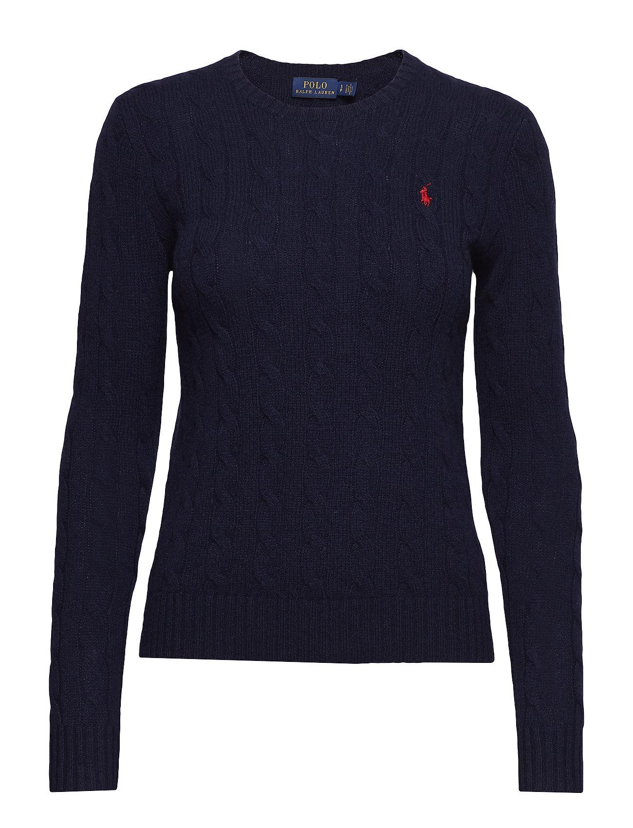 Polo Ralph Lauren Wool-Cashmere Crewneck Sweater - HUNTER NAVY
