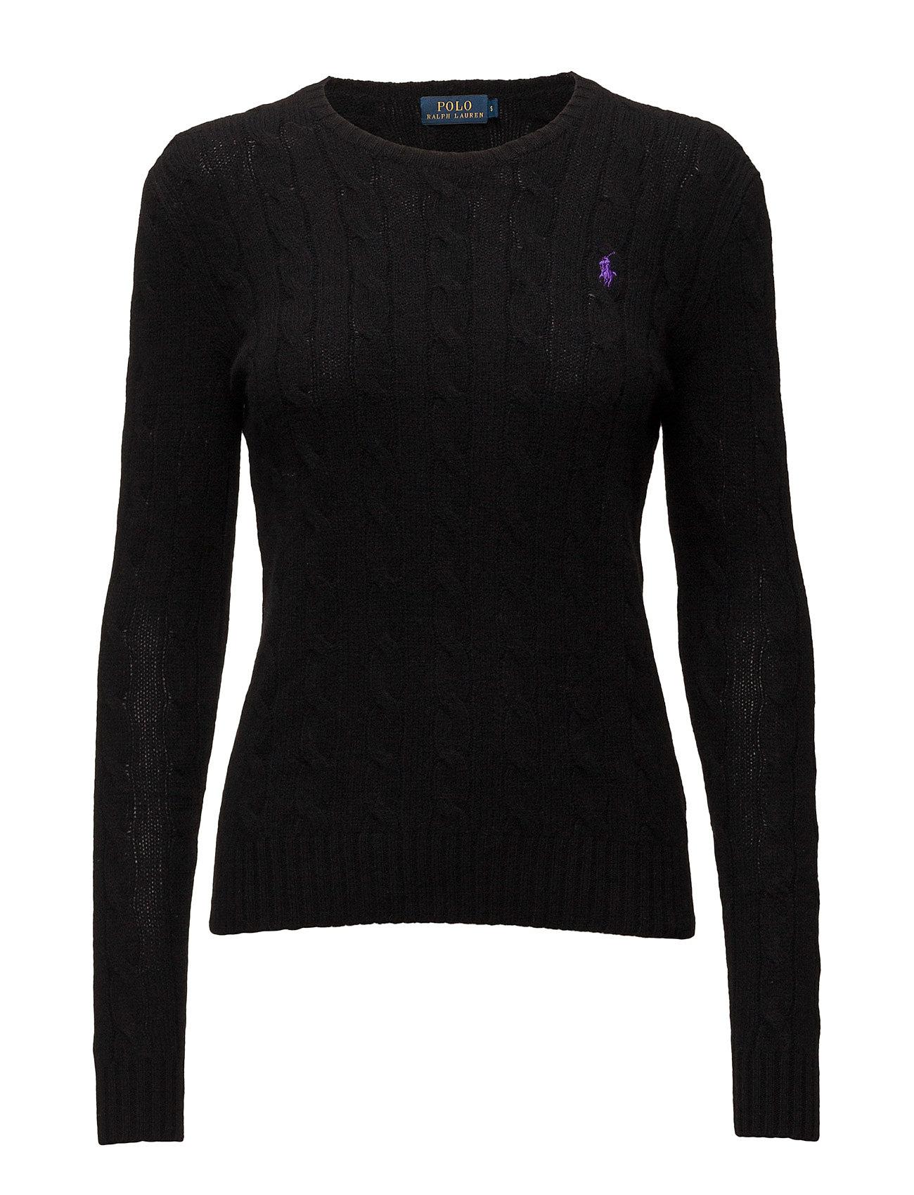 Polo Ralph Lauren Wool-Cashmere Crewneck Sweater - POLO BLACK