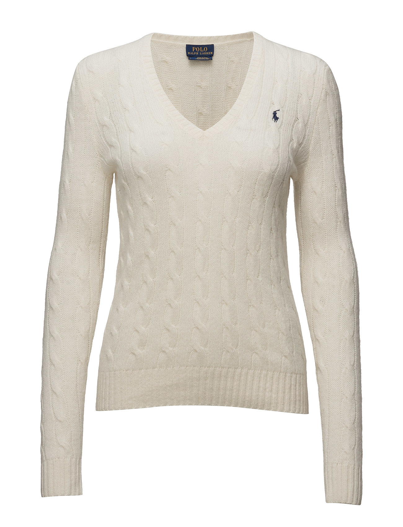Polo Ralph Lauren Cable Wool-Cashmere Sweater - CREAM