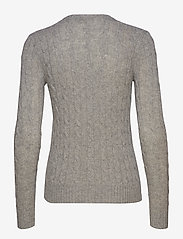 Polo Ralph Lauren - Cable Wool-Cashmere Sweater - tröjor - fawn grey heather - 2