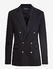Polo Ralph Lauren - Knit Double-Breasted Blazer - blazers - polo black - 0