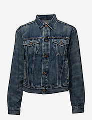 Polo Ralph Lauren - Denim Trucker Jacket - denimjakker - dark indigo - 1