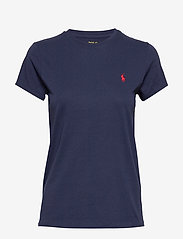Polo Ralph Lauren - Cotton Jersey Crewneck Tee - t-shirts - cruise navy - 0