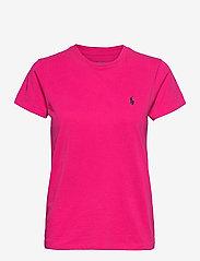 Polo Ralph Lauren - Cotton Jersey Crewneck Tee - t-shirts - sport pink - 1