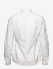 Polo Ralph Lauren - Slim Fit Cotton Oxford Shirt - long-sleeved shirts - bsr white - 1