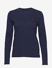Polo Ralph Lauren - Jersey Long-Sleeve Shirt - long-sleeved tops - cruise navy - 0
