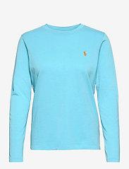 Polo Ralph Lauren - Jersey Long-Sleeve Shirt - langærmede toppe - sailing turquise - 1