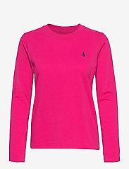 Polo Ralph Lauren - Jersey Long-Sleeve Shirt - langærmede toppe - sport pink - 1