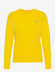 Polo Ralph Lauren - Jersey Long-Sleeve Shirt - langærmede toppe - university yellow - 1