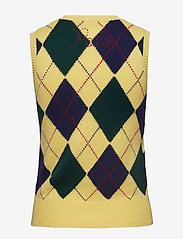 Polo Ralph Lauren - Argyle Sweater Vest - kamizelki - yellow multi - 1